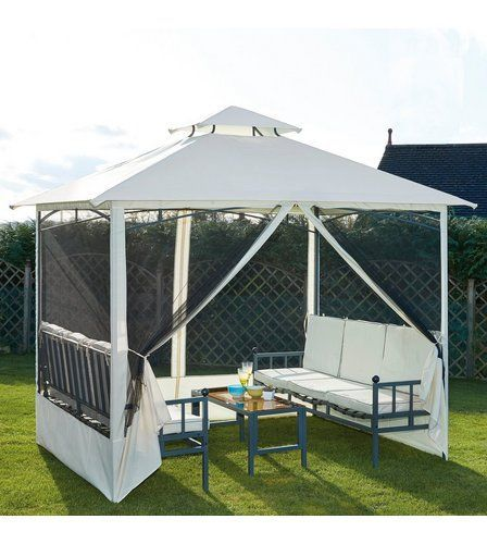 Gazebo Garden Set Eclecticandrustichomedecor Outdoor Pavilion