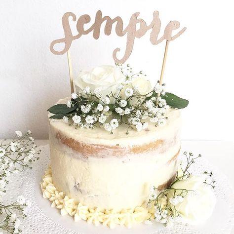 Anniversario Di Matrimonio Romantico.Un Cake Topper Romantico Romantico Per Un Anniversario Di