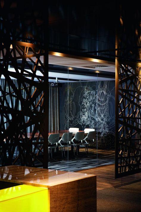 Bureaux de Tebfin par Source Interior Brand Architects