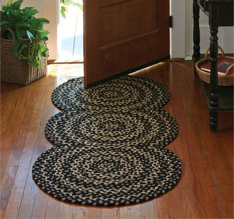 Kendrick Braided Rug Runner Primitive Decorating Country Country Rugs Braided Rugs