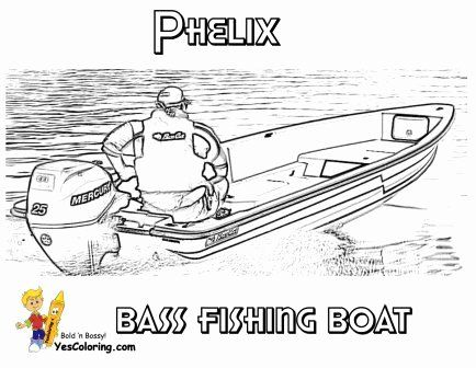 Speed Boat Coloring Page Inspirational Rugged Boat Coloring Page Free Sports Coloring Pages Boat Drawing Bass Fishing Boats