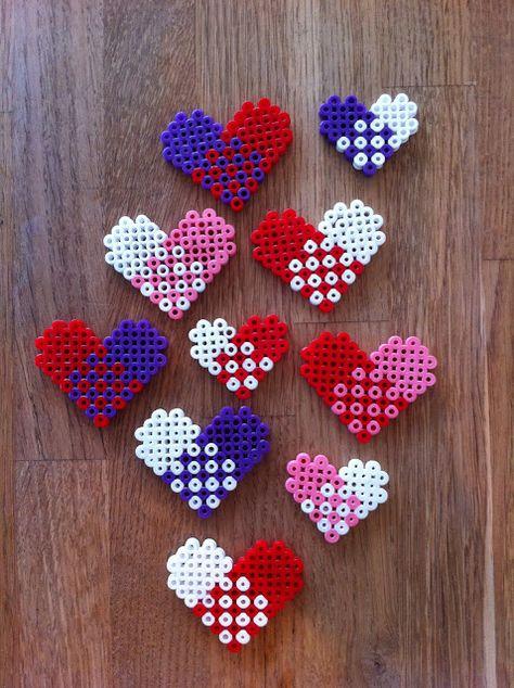Perler Hearts