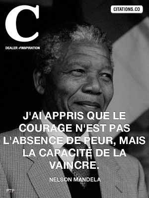 Recovery In French Courage Nelson Mandela Translation