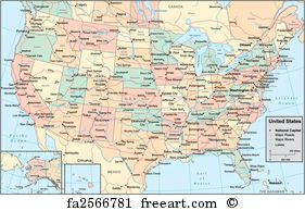 This map shows states and cities in usa. Free Art Print Of Kissing The American Flag America Map Art America Map United States Map