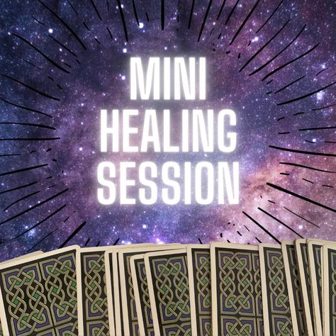 Excited to share this item from my #etsy shop: Mini Healing Session- prerecorded audio #angelreading #tarotreading
