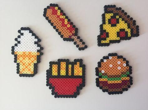Gameboy Mushroom Perler Kandi Pattern Perler Beads Perler Bead