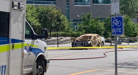 No Further Concern For Public Safety After Man Dies In Kitchener Car Explosion Daiji World News In 2020 Explosion Pavia Public