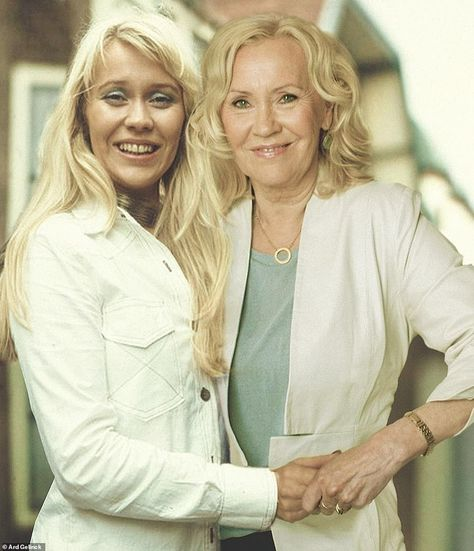 Knowing me, knowing...me: Now she's 68, no doubt Abba star Agnetha Faltskog will be saying Thank You For The Music