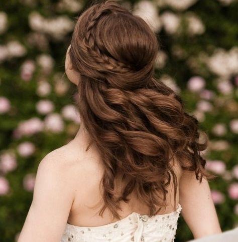 List Of Pinterest Halboffene Frisuren Hochzeit Ideas Halboffene