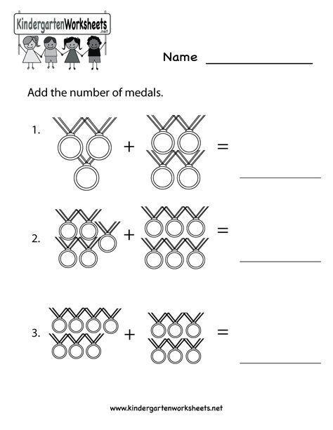 Olympics Math Worksheet Printable Kindergarten Math Worksheets Kindergarten Math Kindergarten Math Worksheets Free