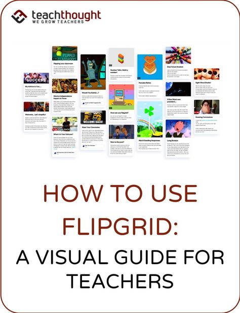 Flipgrid is a free education-focused platform to create and share short videos. But what features make Flipgrid it unique? Its really about ease of use (through Topics) and privacy (through Grids). E Learning, Blended Learning, Learning Resources, Teacher Resources, Teaching Technology, Educational Technology, Instructional Technology, Instructional Strategies, Flipped Classroom