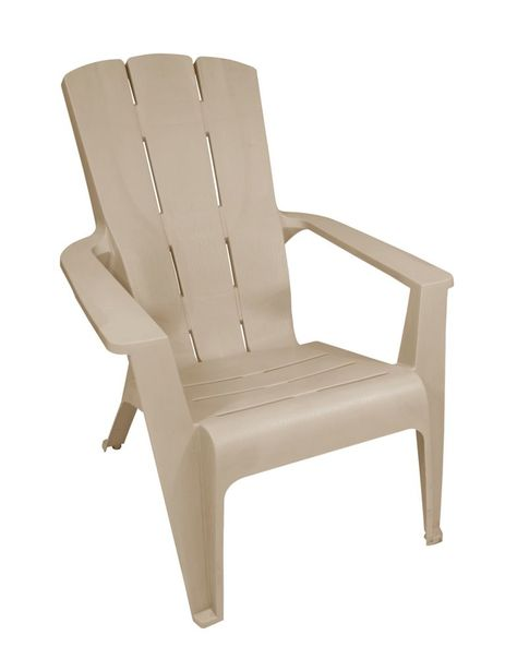 19 98 Contour Outdoor Adirondack Chair In Sandstone Muskoka