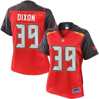 newest 564a3 20893 Women's NFL Pro Line Brandon Dixon Red Tampa Bay Buccaneers ...