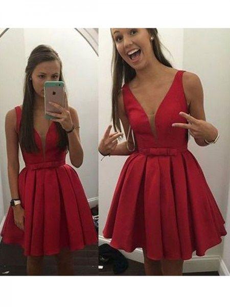 Vestidos De Gala Cortos 2018 Juveniles En 2019 Vestidos De