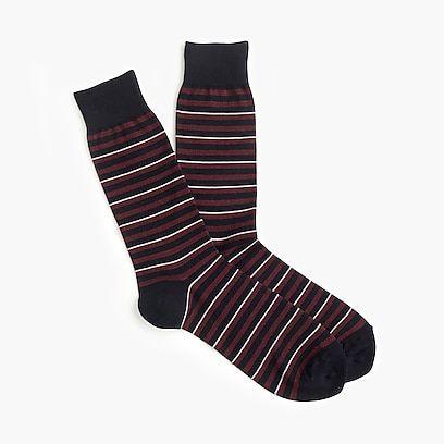 Striped Dress Socks Socks Athletic Socks Men