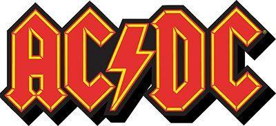 Funky Chunky Magnet: AC/DC - Logo