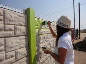 Les Techniques Pour Peindre Un Mur Extérieur En Béton Ou En