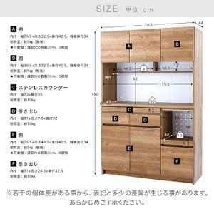 食器棚 おしゃれ 収納 キッチン収納 ハイタイプ キッチンボード 幅