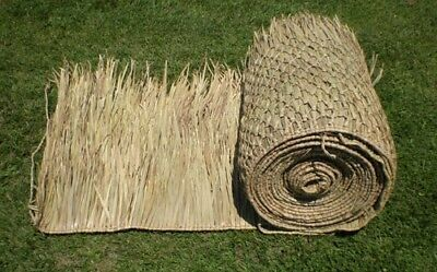 Making Grass Mats For Hunting