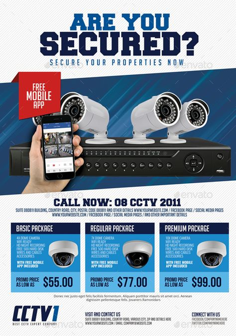 CCTV Package Flyer