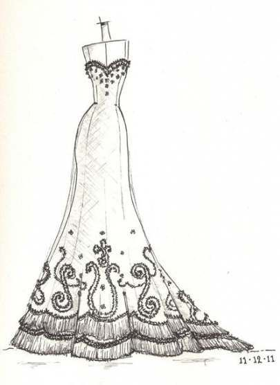 Fashion Dresses Drawing Etsy 34 Ideas Fashion Drawing Source By Samanvita Dresses In 2020 Wedding Dress Sketches Dress Sketches Wedding Dress Drawings
