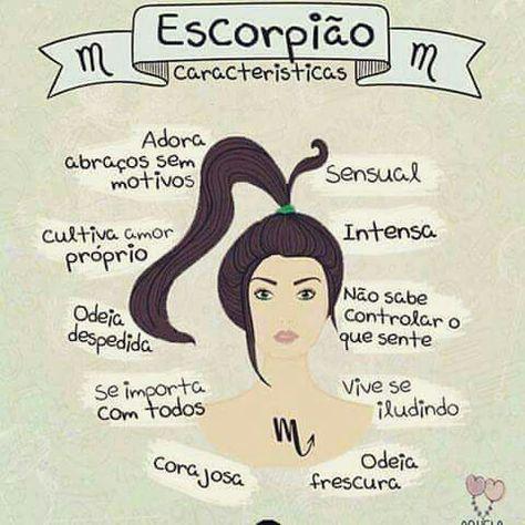 Eu, Escorpião