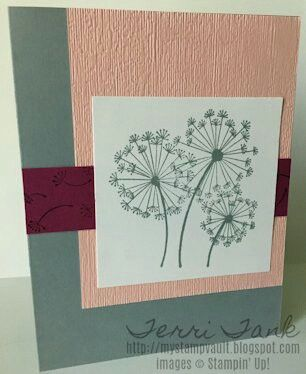 Pin By Patti Roesner On Stampinup A F Dandelion Wish Card Craft Cards