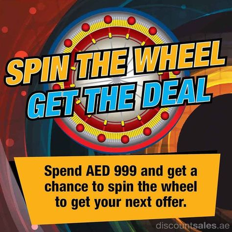 Spin The Wheel Get The Deal At Plug Ins Discount Sales In