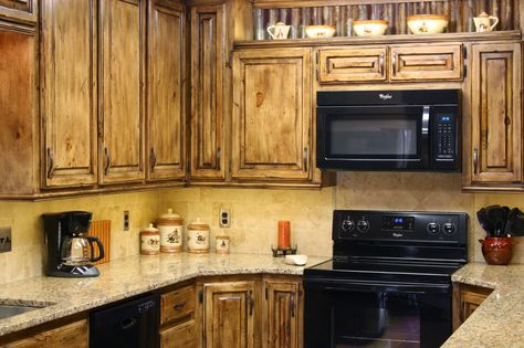 How To Make Your Kitchen Cabinets Look Distressed House Hack