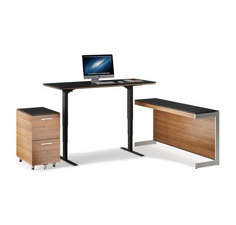 Sequel Lift Standing Desk By Bdi Lift Desk Desk Modern Office Desk