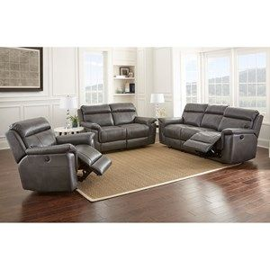 Dakota Reclining Living Room Group By Steve Silver Living Room Leather Reclining Sofa Leather Reclining Sofa
