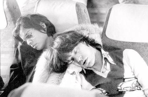 Asleep - Rare and Fabulous Photos of Bianca Jagger - Photos