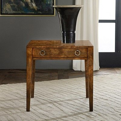 Modern History Mid Century End Table Lacewood With Images