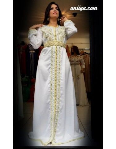 Caftan marocain blanc in 2020 | Victorian