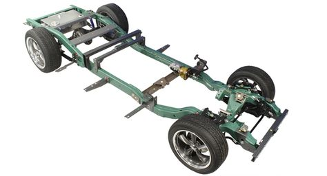 1947-1948 Long Box Chevy Truck Bolt-On S-10 Frame Swap / Chassis ...