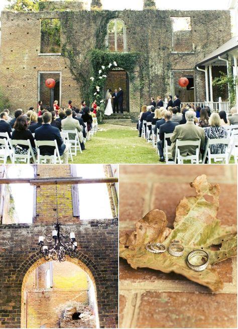 Atlanta Wedding at Barnsley Gardens Resort by LibbyPhoto