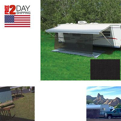 Sponsored Ebay Rv 6 X 10 Sun Blocker Sun Canopy Camping Screen Awning Camper Trailer Uv Shade In 2020 Sun Canopy Camper Trailers Outdoor Decor