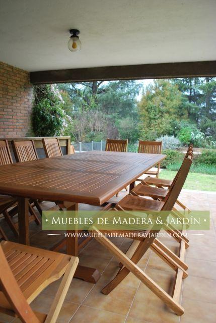 Mesa Extensible De Madera Para Quincho Mesas Extensibles Mesa Para Quincho Muebles De Exterior