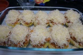 Patatas Rellenas De Carne Picada Y Queso Patatas Rellenas De Carne Patata Rellena Recetas Con Patatas