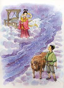 Orihime & Hikoboshi, Star-crossed lovers
