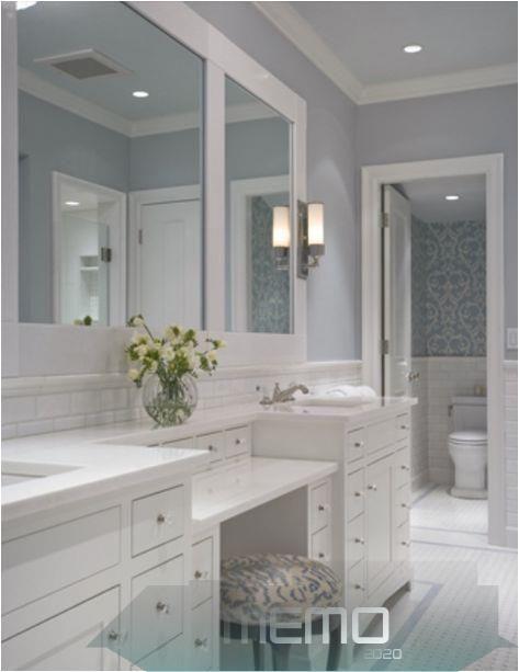 Mar 16 2020 Master Bath Remodel 24 Ideas Makeup Vanity Master Bath Window Ho Badezimmerdek In 2020 Bathroom With Makeup Vanity Bathroom Vanity Master Bathroom Vanity
