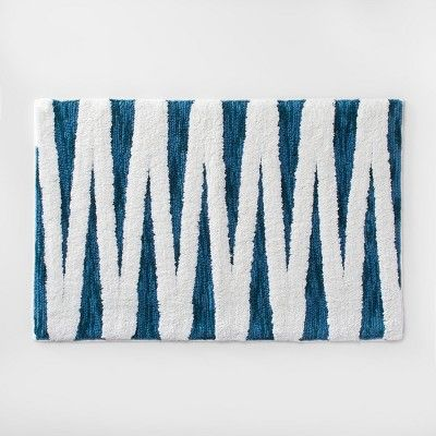 Find Product Information Ratings And Reviews For Zig Zag Bath Rug
