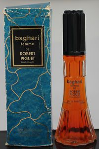 Vintage Robert Piguet Baghari Femme Eau De Toilette Spray 34oz