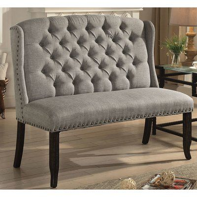 Miraculous Darby Home Co Meda Tufted High Back 2 Seater Love Seat Gamerscity Chair Design For Home Gamerscityorg