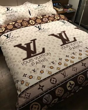 Gucci 4pcs Bedding High Quality Cotton Set Lv Sheet Designer Bed