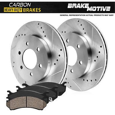 For BMW E70 Pair Set of 2 Rear Coated /& Vented Disc Brake Rotors 345 mm Brembo