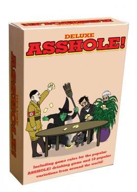 Ass hole card game