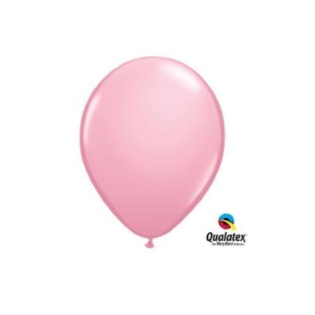 "Rose Pink Qualatex 5/"" Latex Balloons x 100"