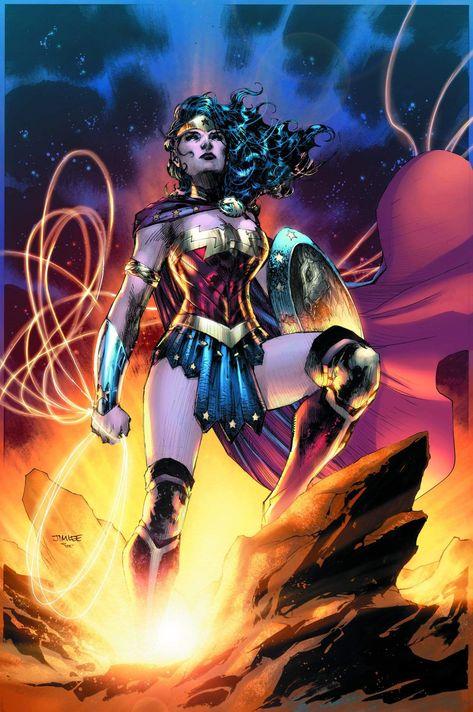 Wonder Woman Goddess of Truth - Paper