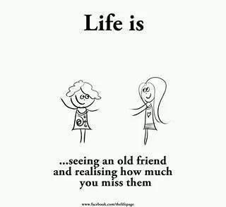 And re connecting with one.   Love It   Memories with friends